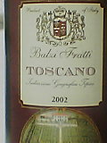 BALZI FRATTI TOSCANO 2002