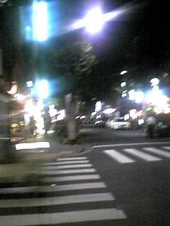 Friday night in 甘酒横丁