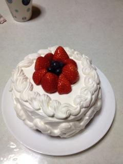 こんなケーキで