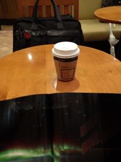本日もコーヒー