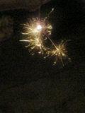 夏の終わりの線香花火