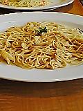 ポルチーニと白まいたけのクリームソーススパゲッティ